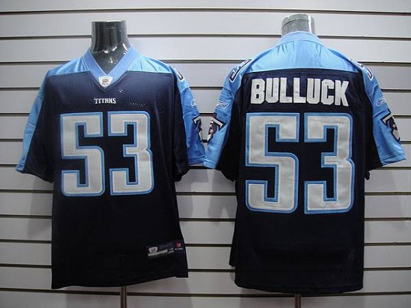 593535f35fc Titans  53 Keith Bulluck Stitched Dark Blue NFL Jersey. Buy Cheap ...